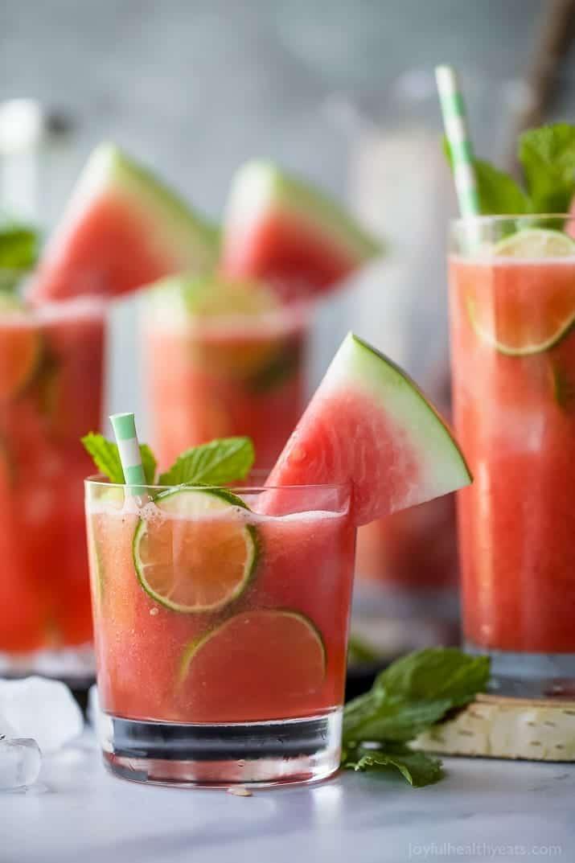 Vodka watermelon cocktail