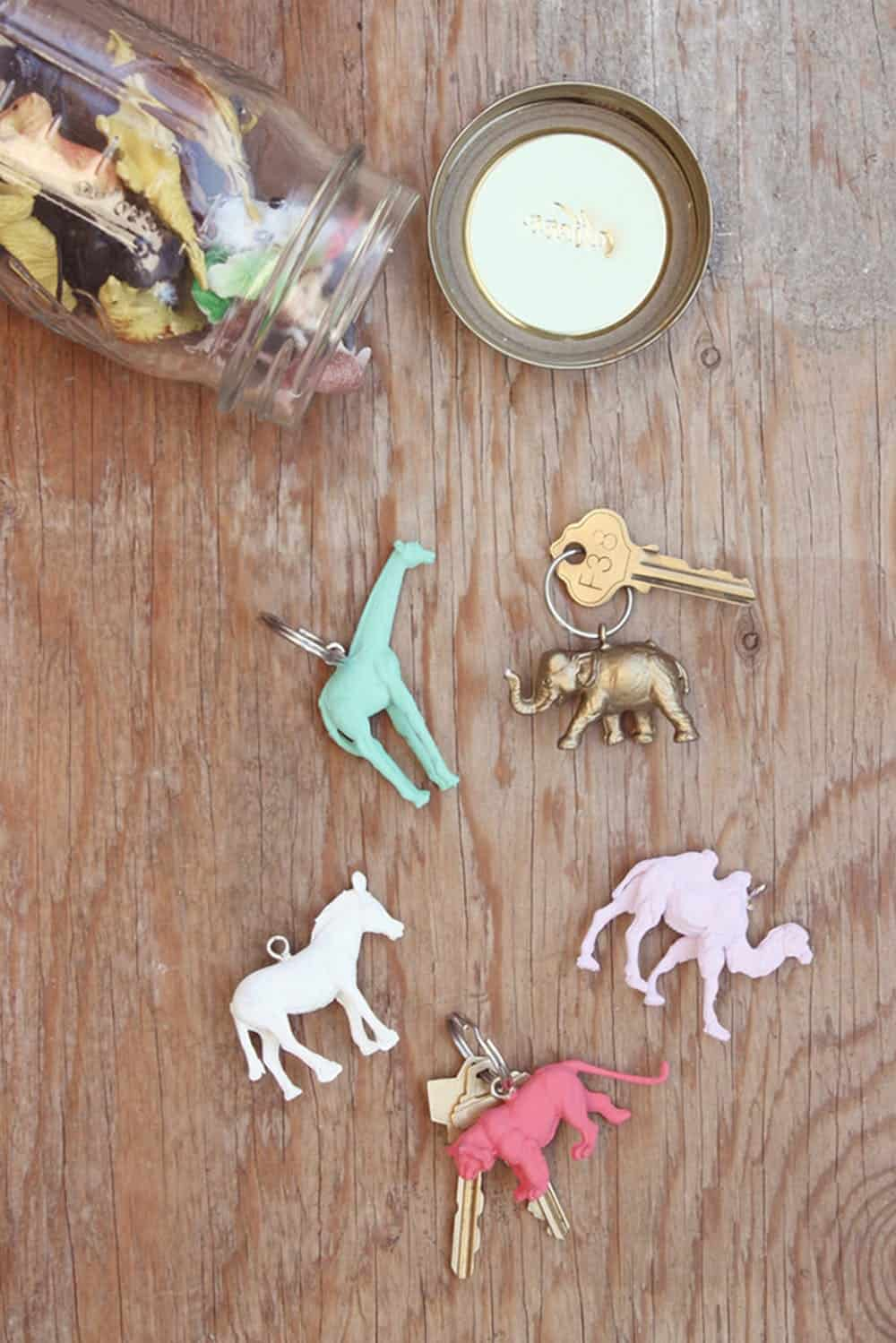 Animal key chains