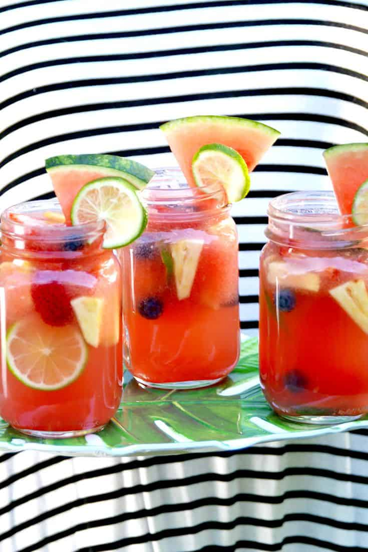 Delish watermelon sangria