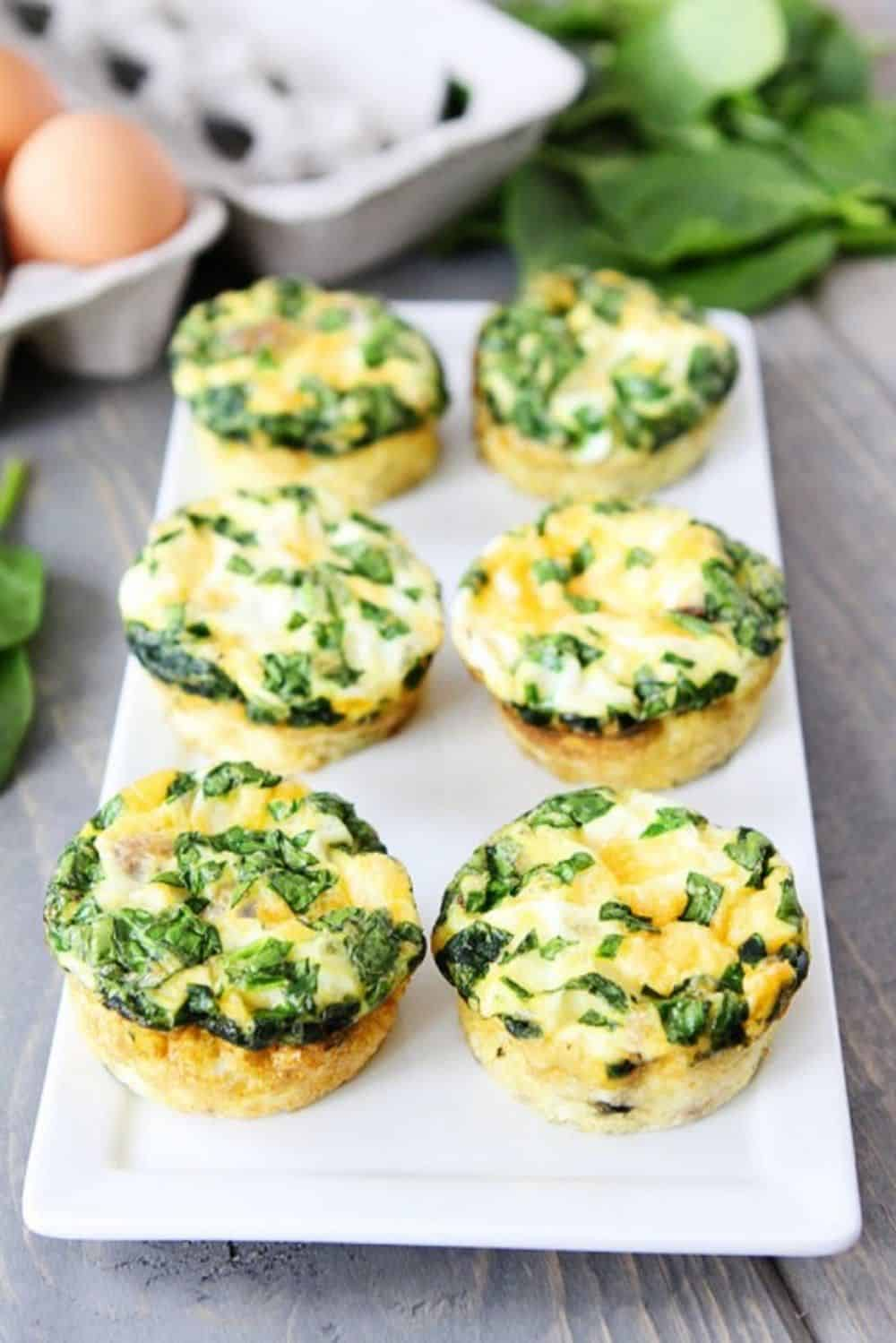 Egg muffins sausage egg cheese