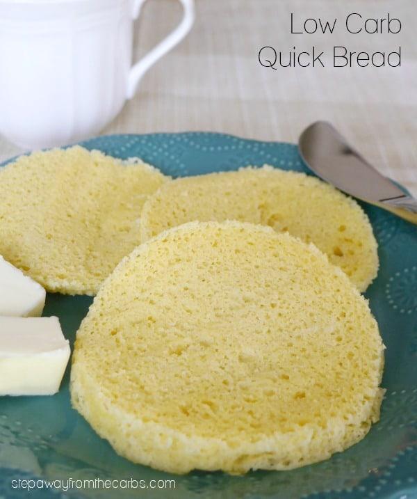 90 saniye düşük karbonhidratlı hızlı ekmek