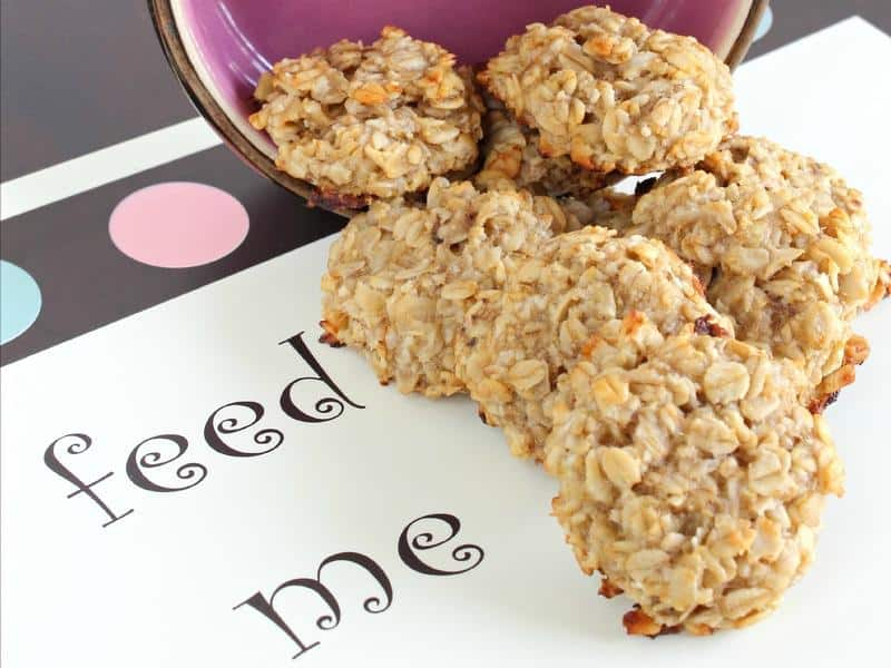 Banana oatmeal treats
