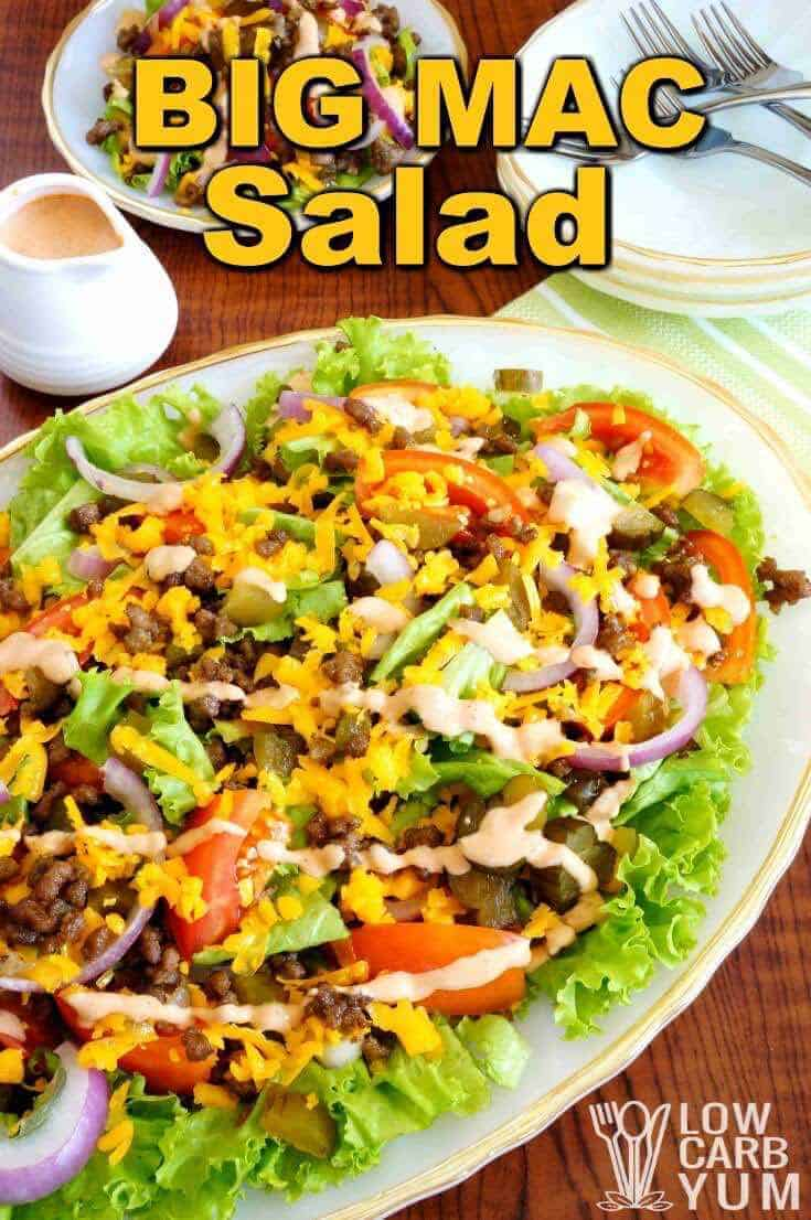 Big mac salad