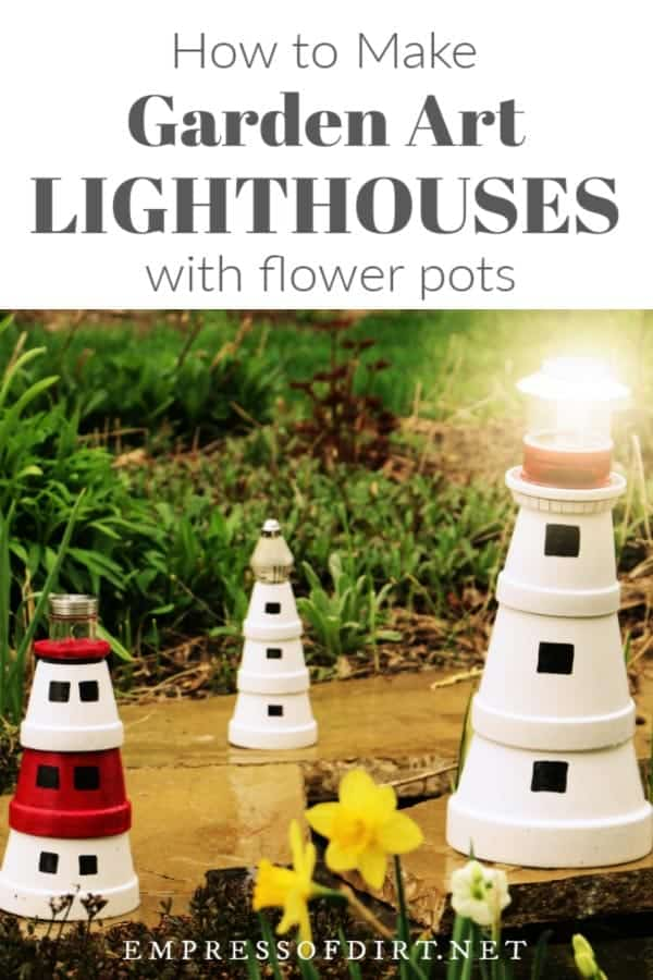 Clay pot lighthouses