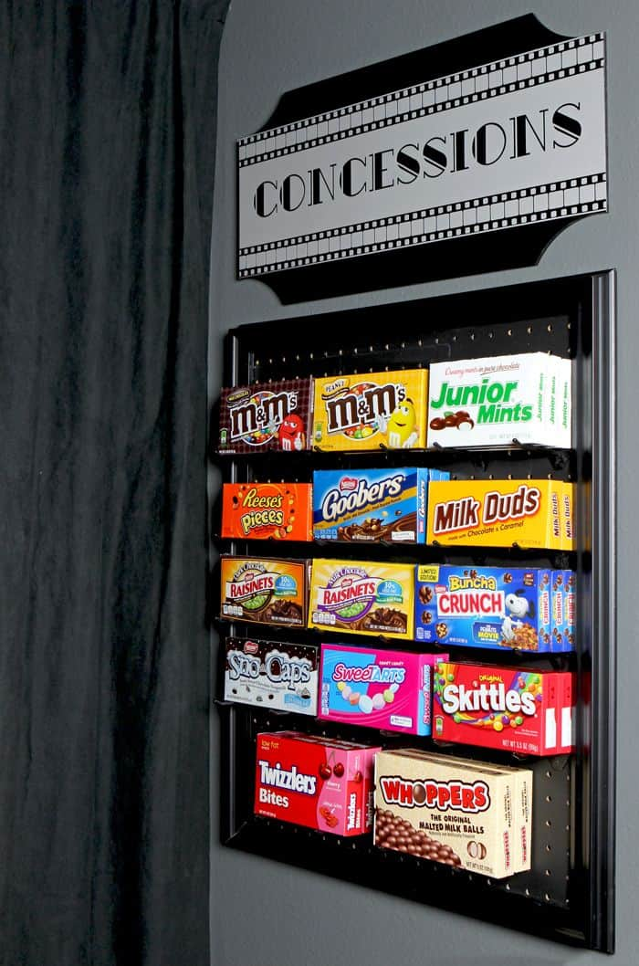 Diy candy pegboard