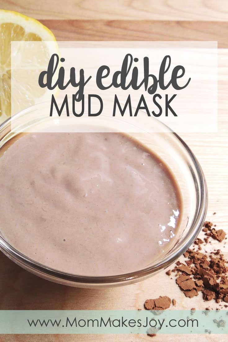 Diy edible mud mask