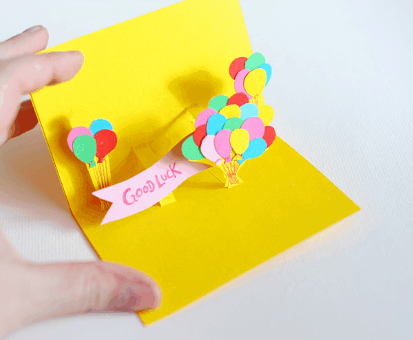 Diy pop up cards