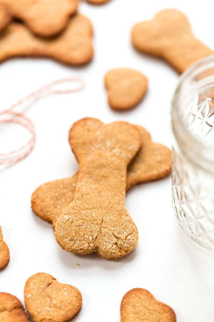 Grain free peanut butter dog treats