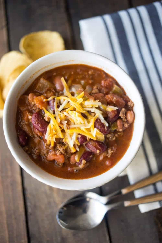 Instant pot wendys copycat chili