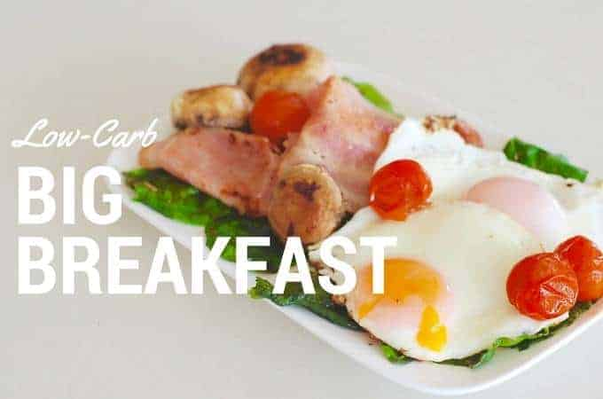 Lo carb big breakfast