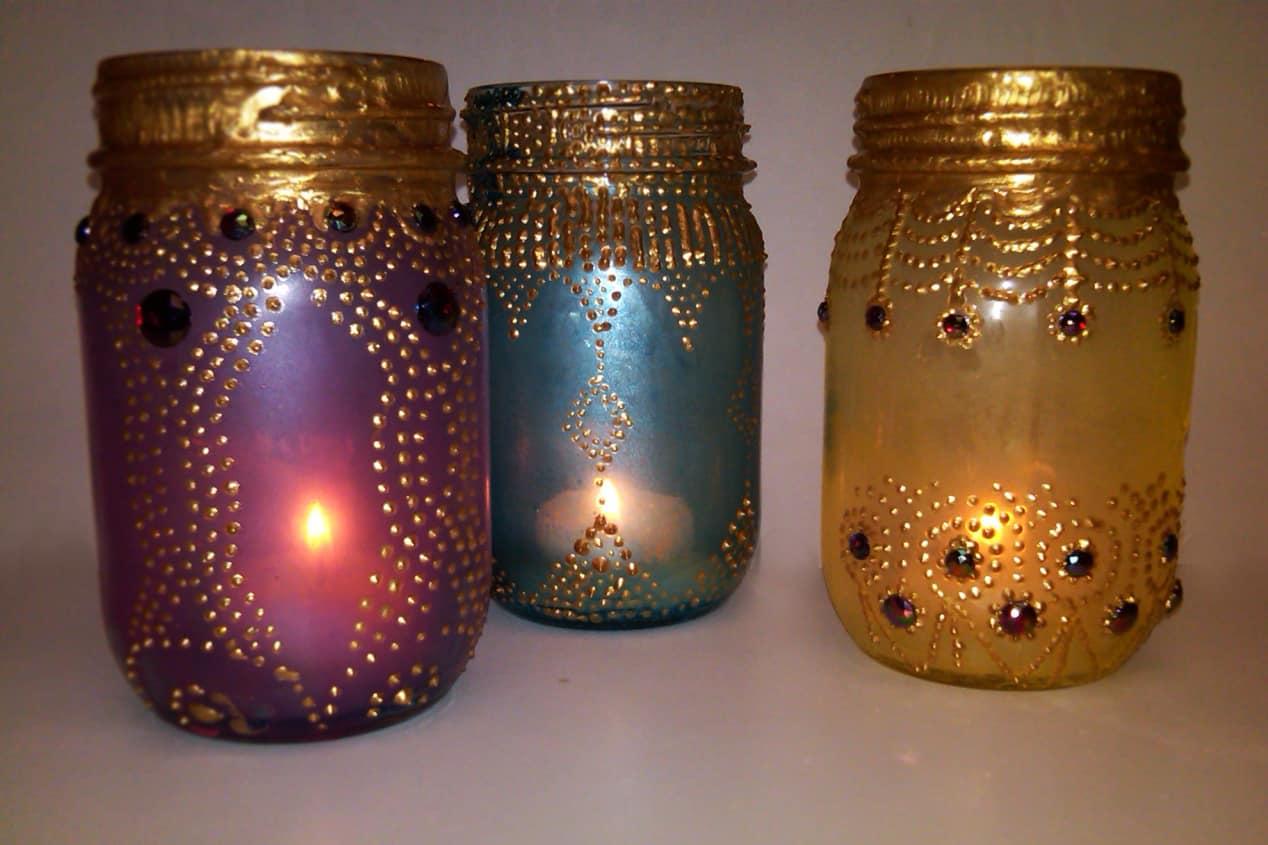 Diy boho morocco lanterns