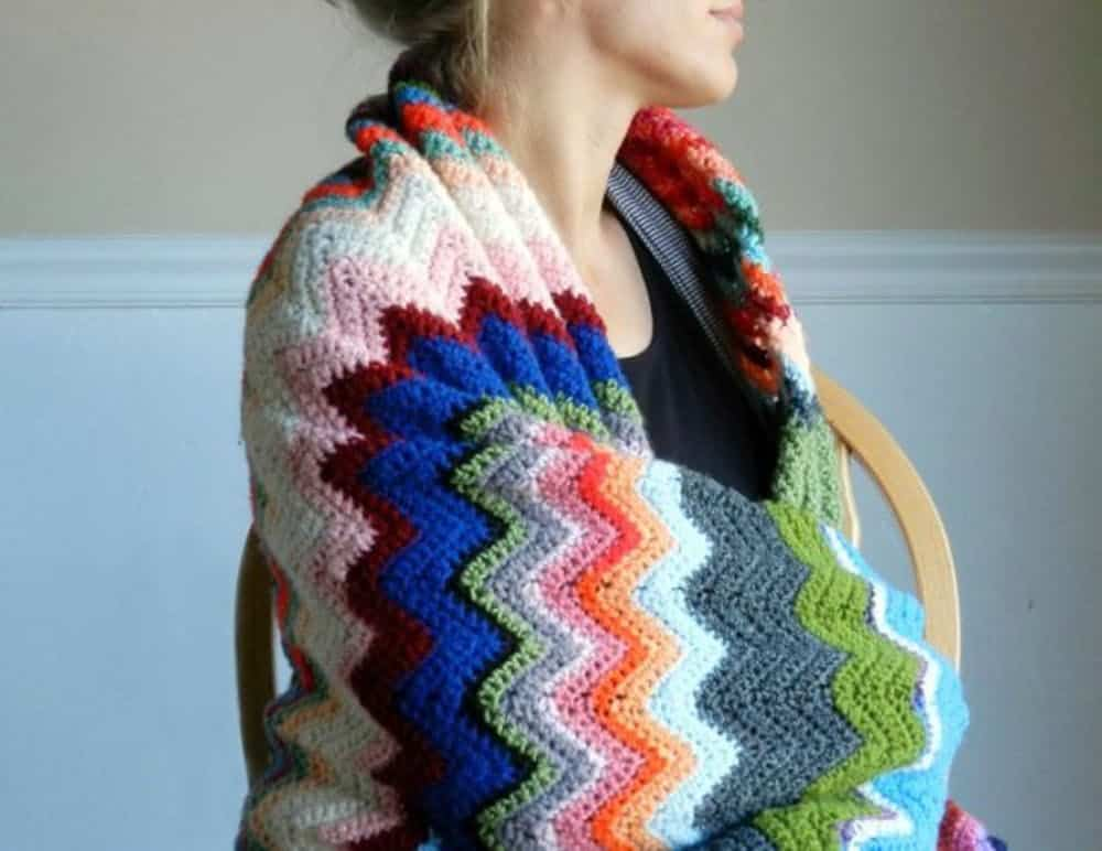 Diy crochet blanket