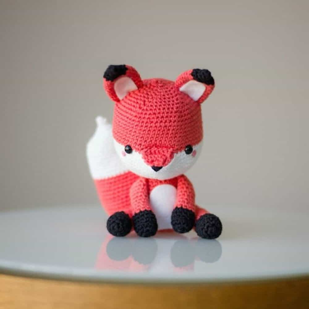 Diy crochet fox