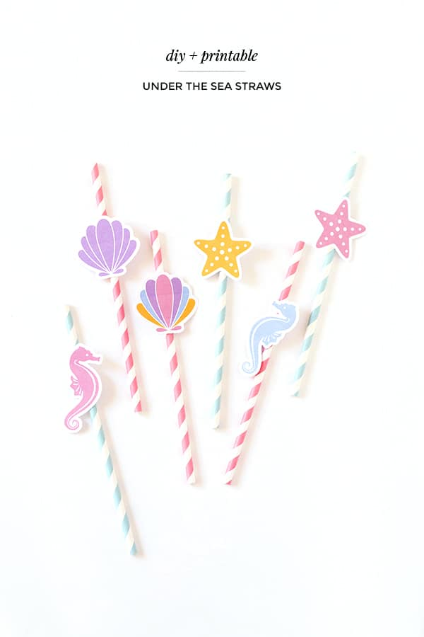 Diy seashell straws