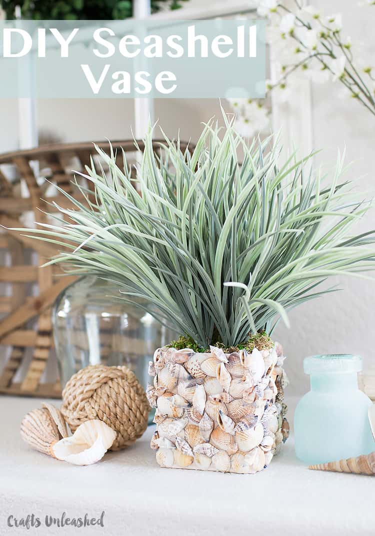 Shell diy vase consumer crafts unleashed 1