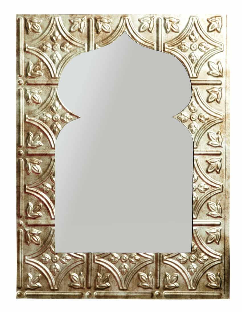 Tiled mirror morocco diy