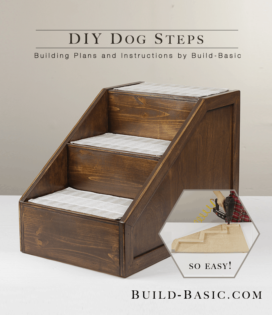 Diy dog steps