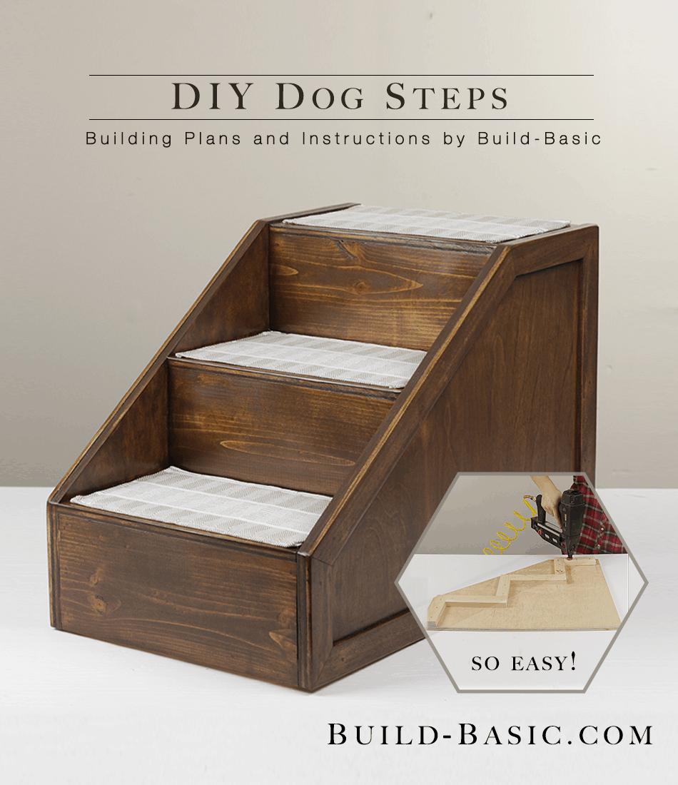 Diy dog steps