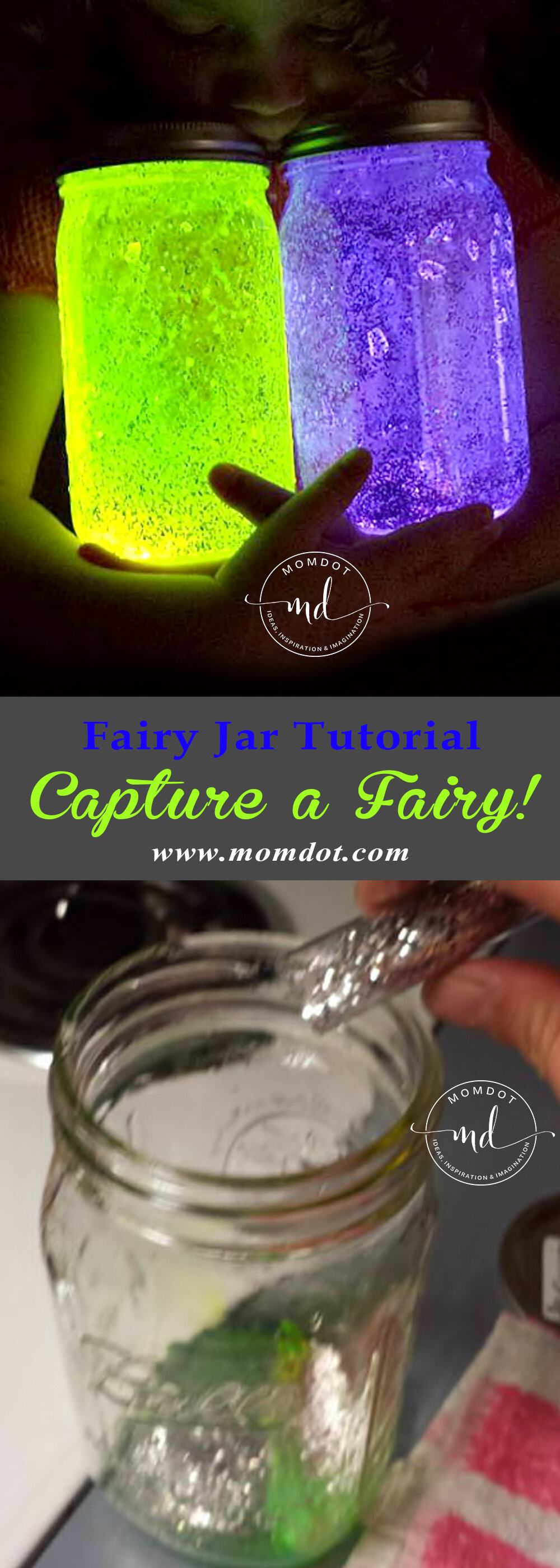 Diy fairy jar