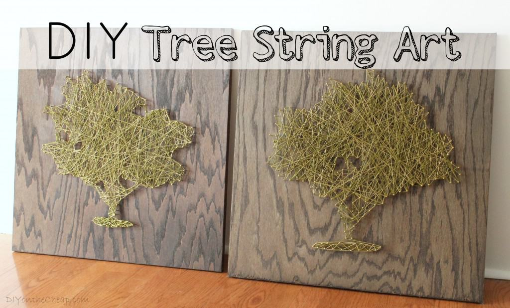 Diy tree string art