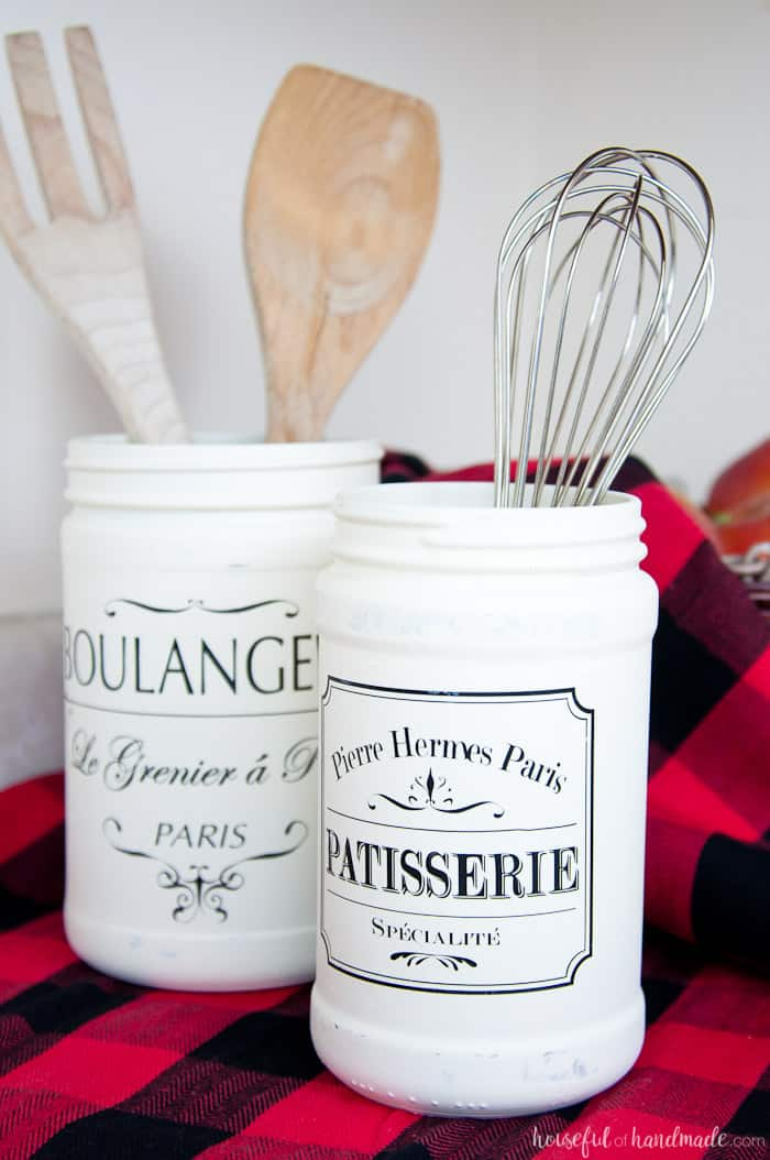 Farmhouse kitchen cannisters