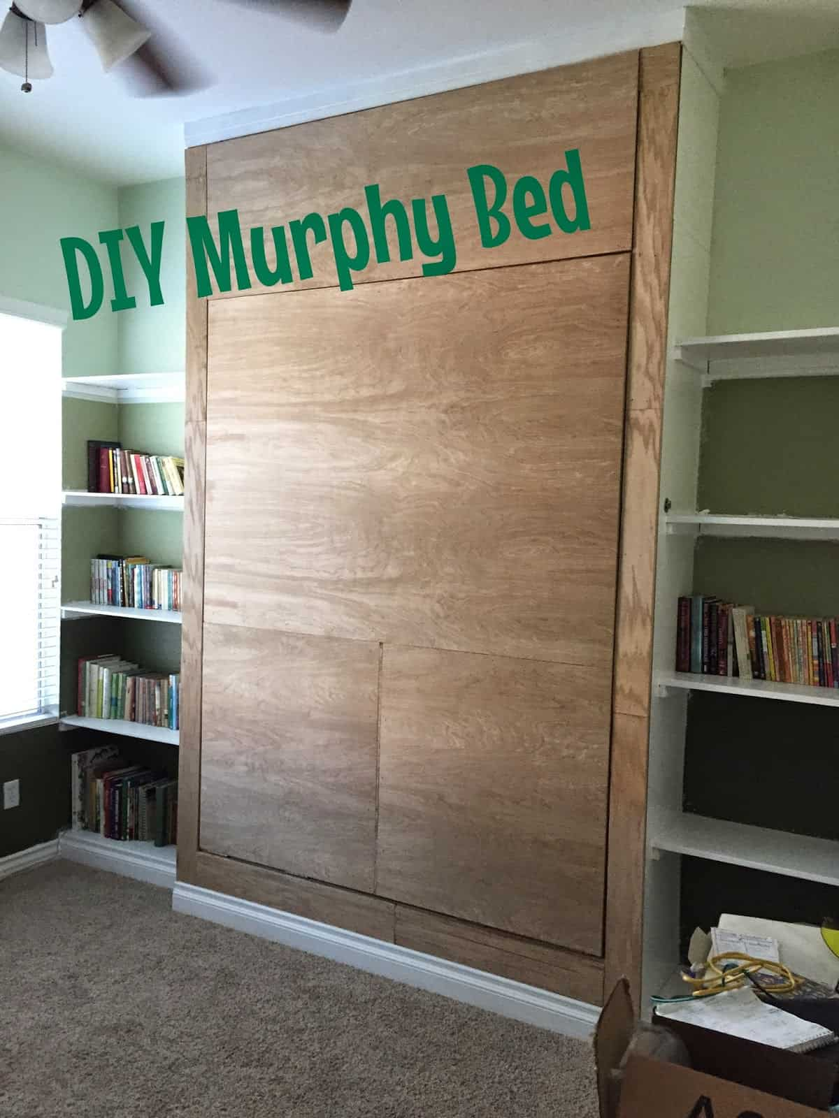 Fully flush murphy bed