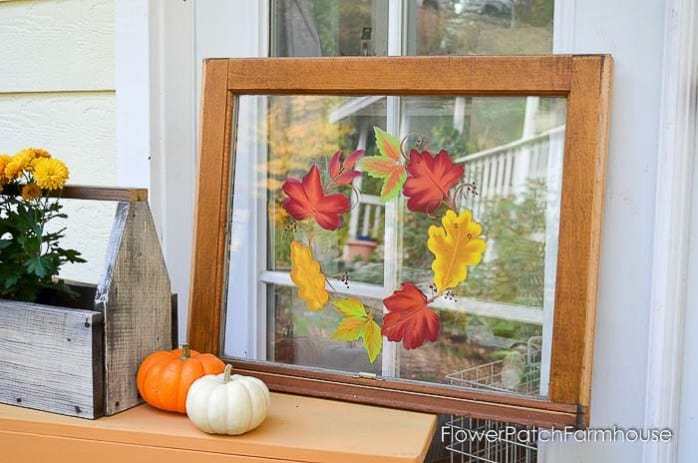 How to paint autumn leaves on glass 1 of 2
