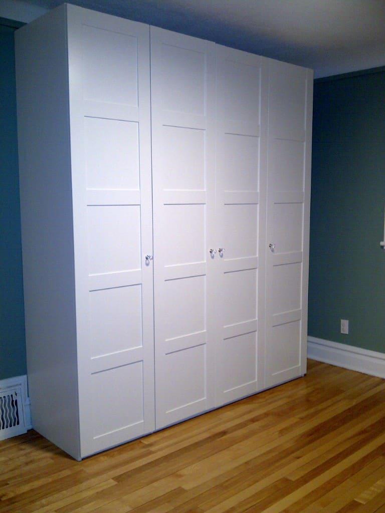 Ikea cabinet hack murphy bed