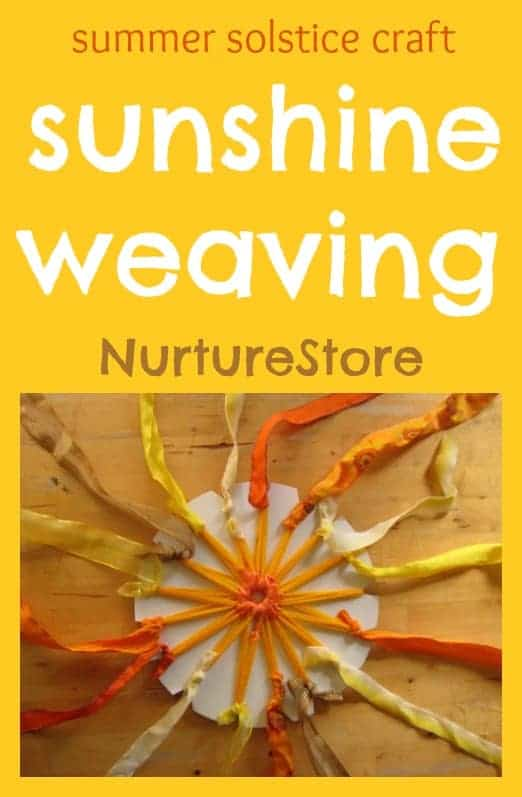 Sunshine weaving craft