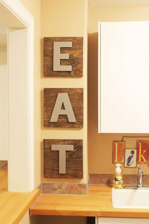 Wooden eat boards