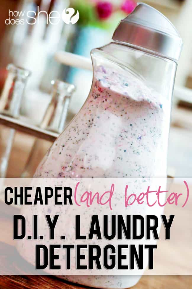 Cheaper and better diy laundry detergent wow