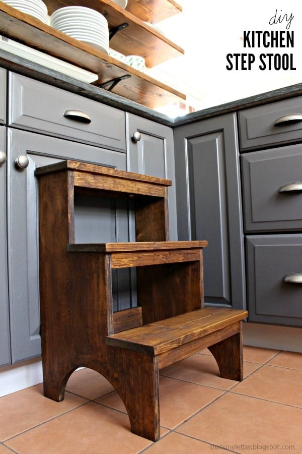 Diy 3 step stool