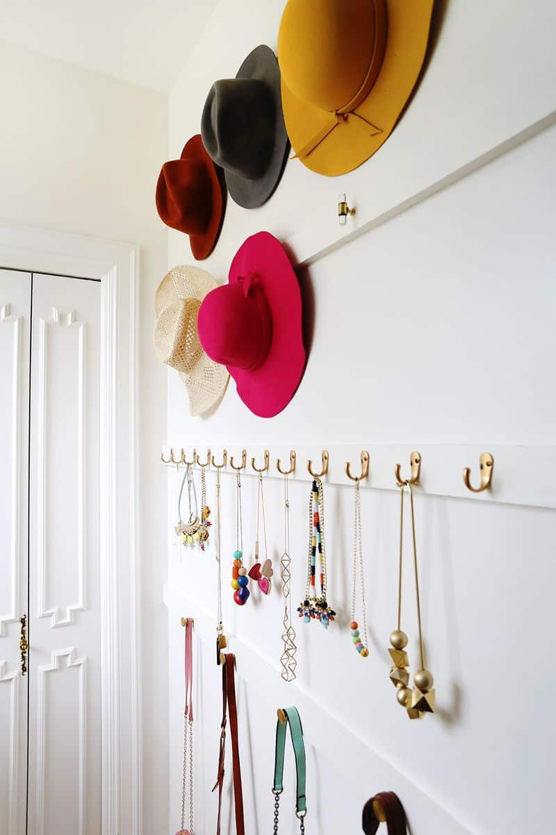 Diy accessory wall hanger