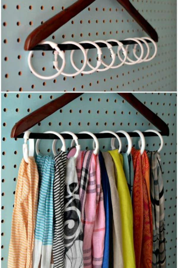 Diy closet organizer 2