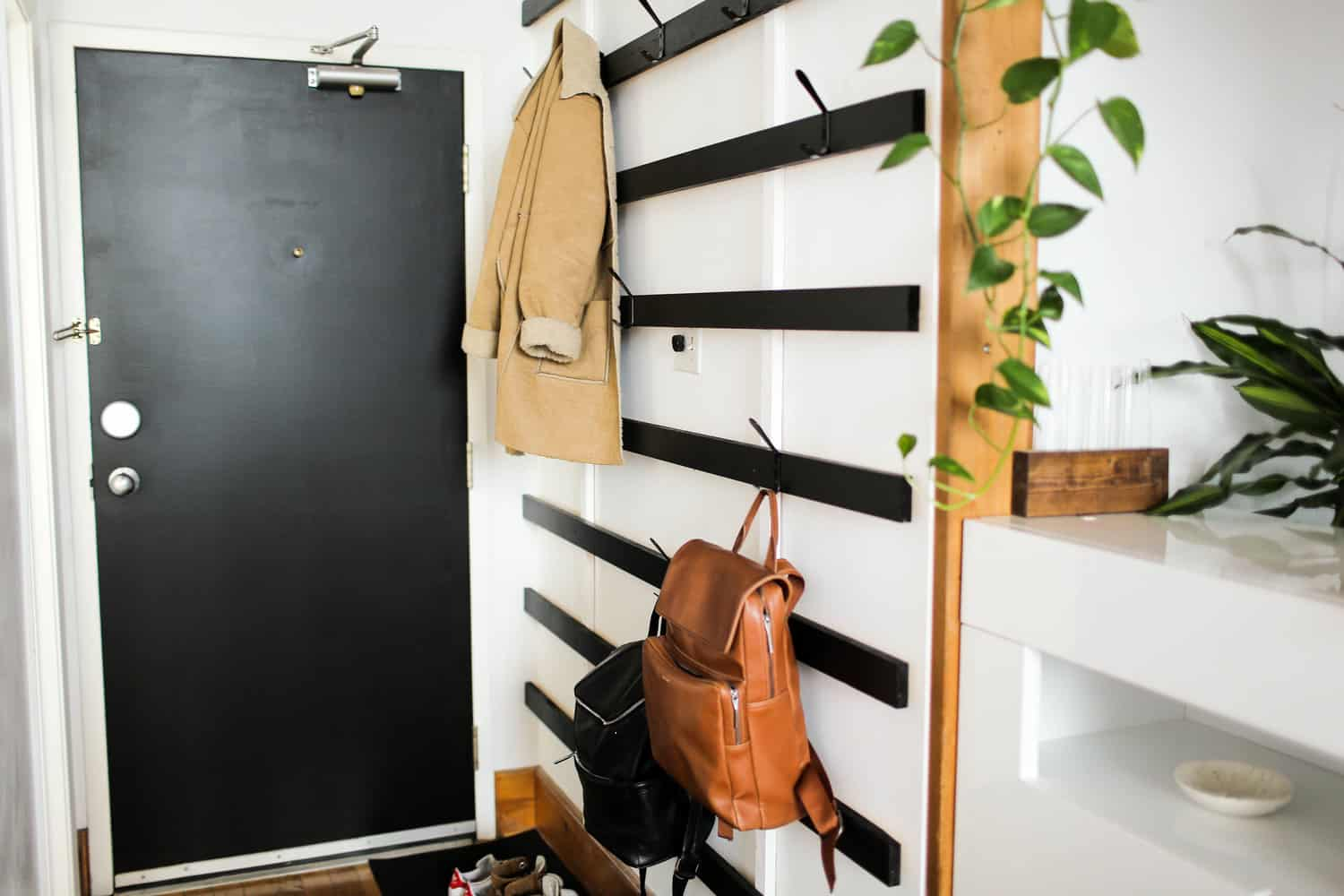Diy coat rack modern