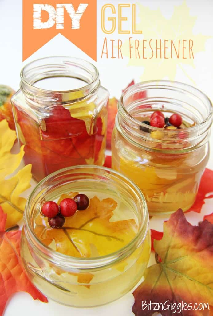 Diy fall gel air freshner