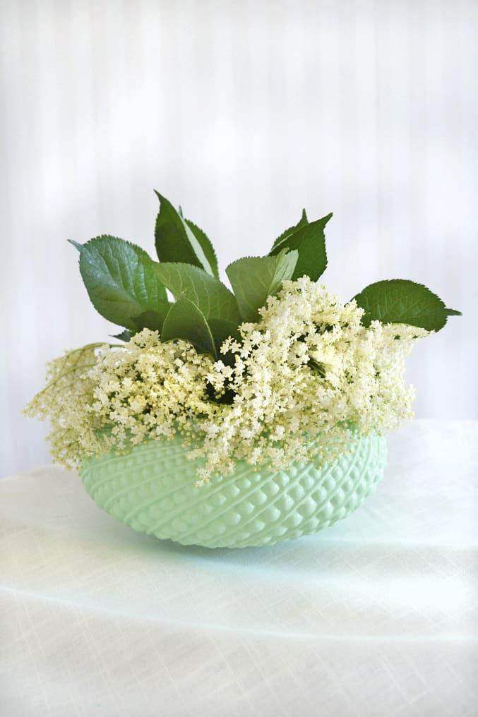 Diy lampshade vase
