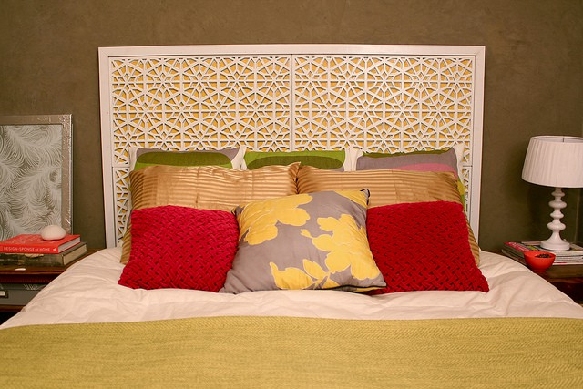 Diy moroccan headboard