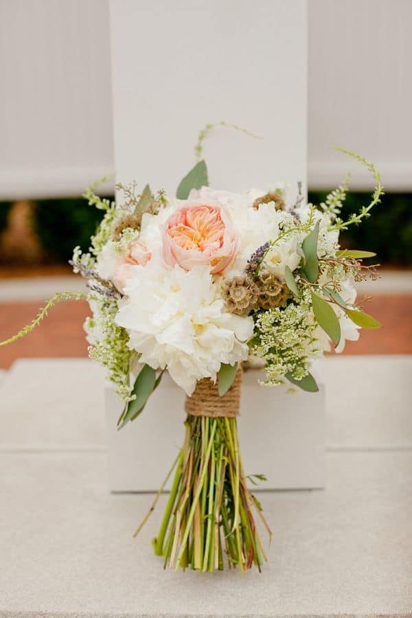 Diy rustic bridal bouquet