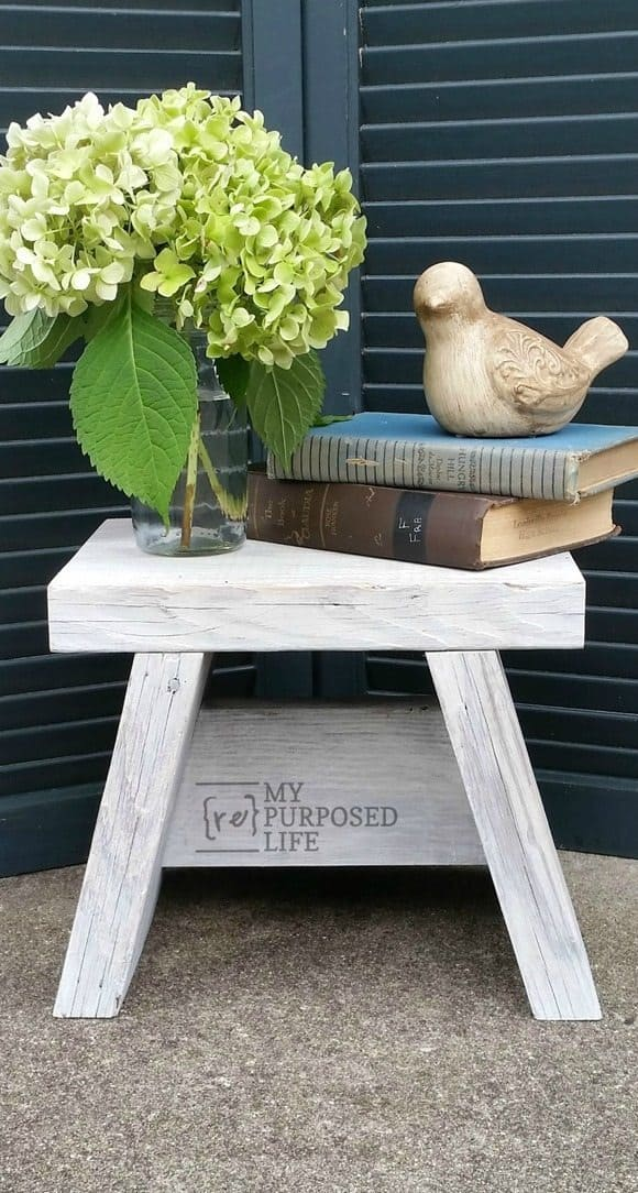 Diy small step stool