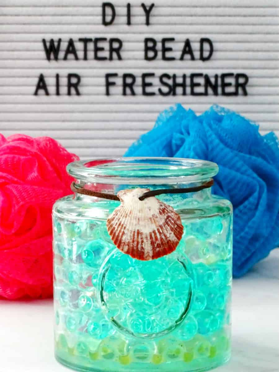 Diy water bead air freshner
