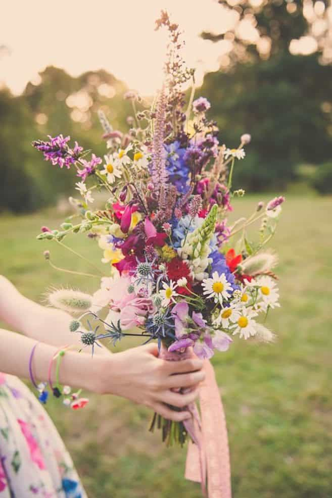 Diy wildflower bouquet
