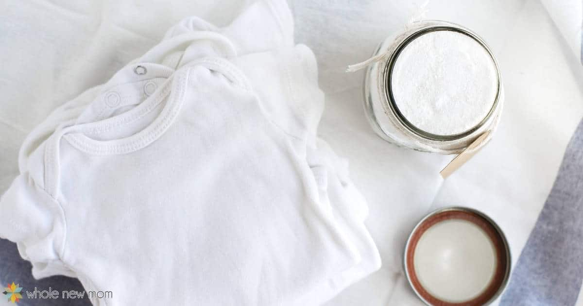 Homemade baby laundry detergent copy