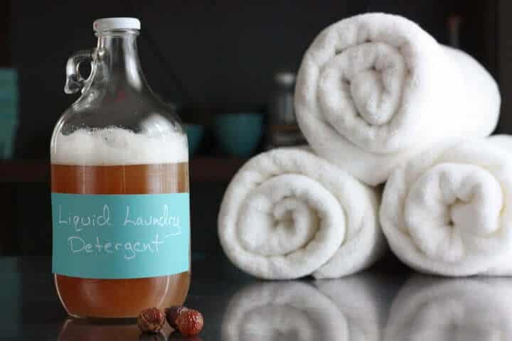 Homemade liquid laundry detergent recipe