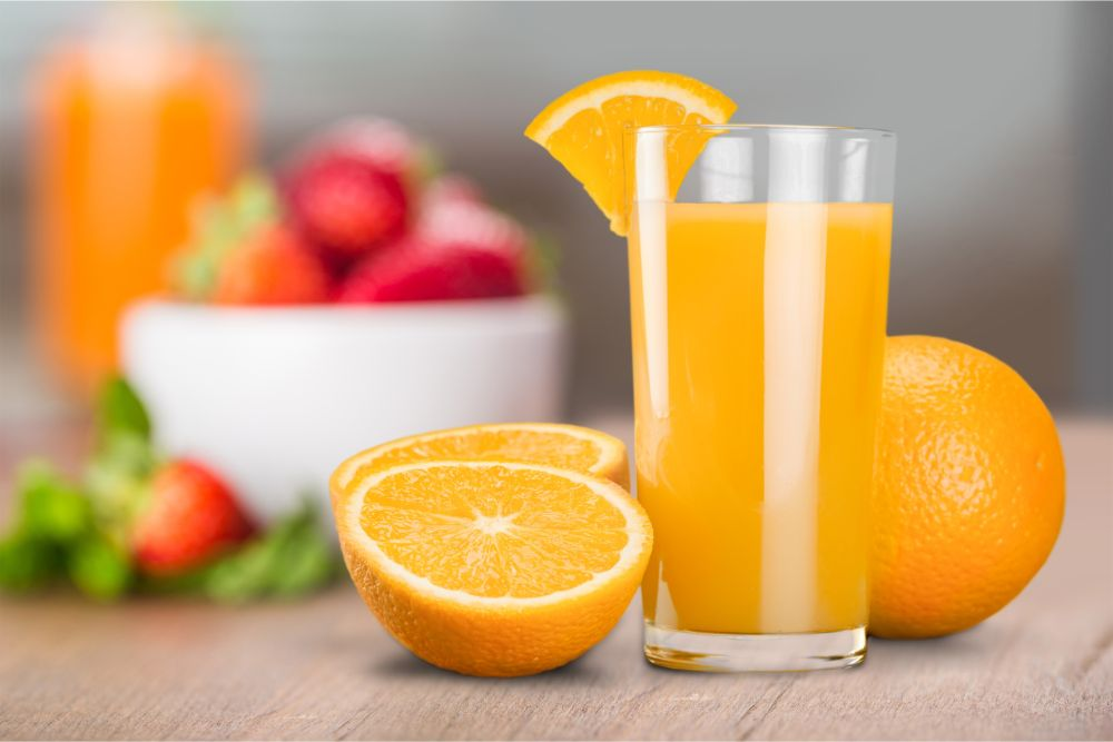 How to freeze fruit juice