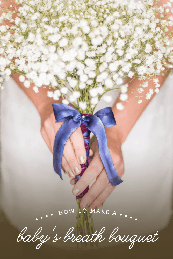 How to make a babys breath bouquet