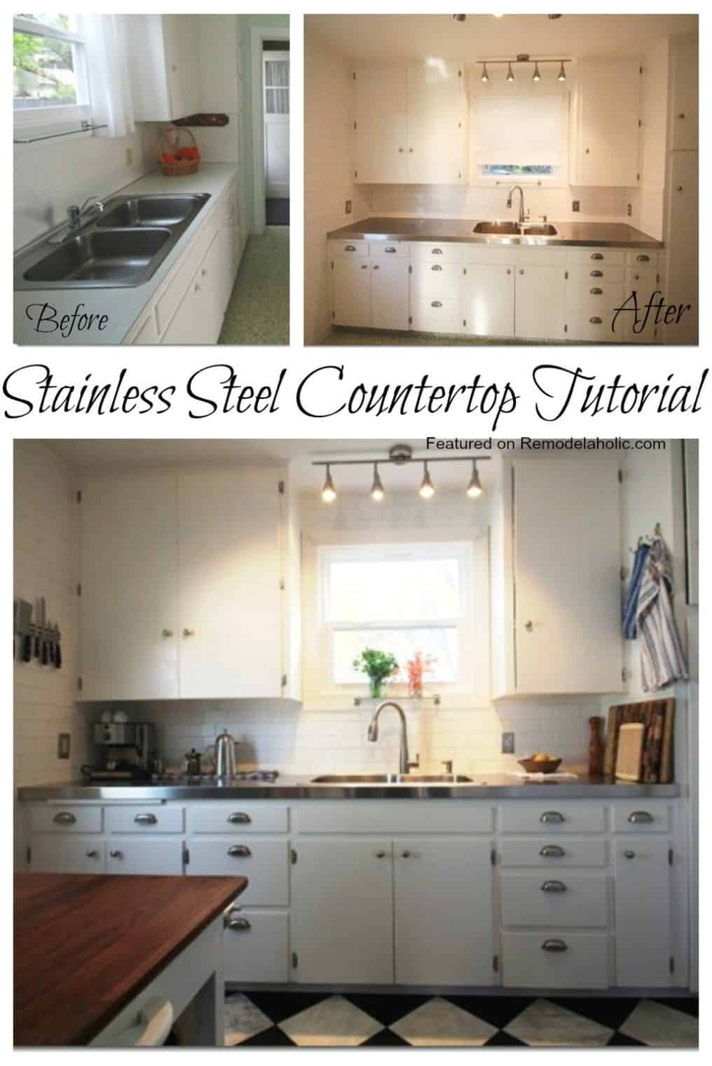 Affordable stainless steel countertops