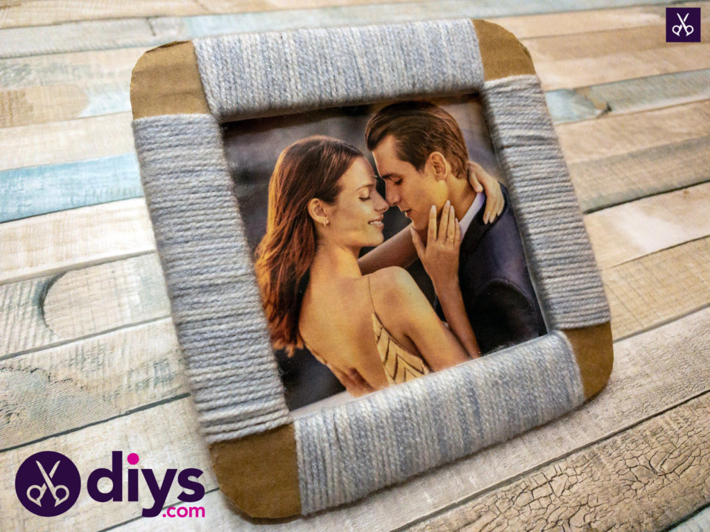 Cozy how to make a cardboard photo frame (3)