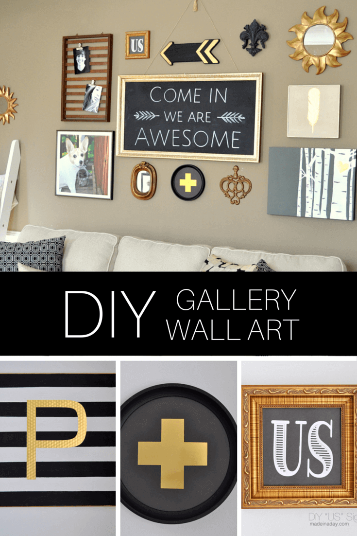 Diy art gallery wall