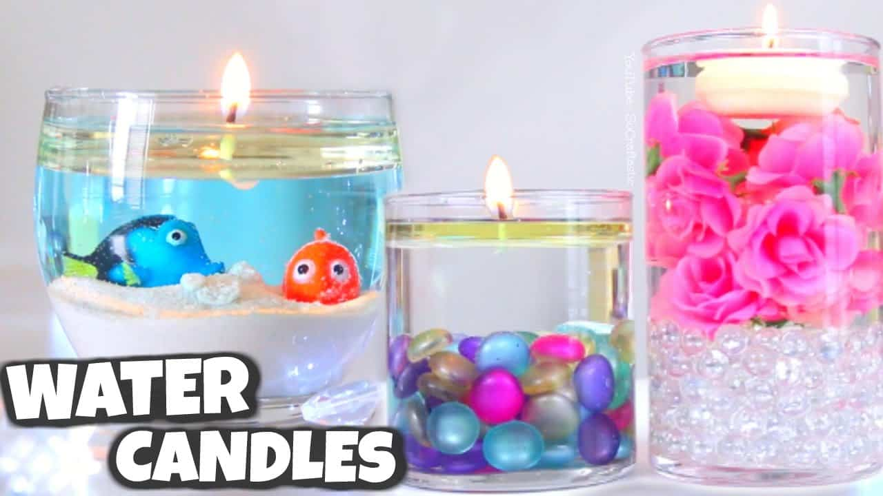 Diy water candles